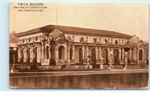 Panama-Pacific International Exposition San Francisco YWCA Building Postcard D22