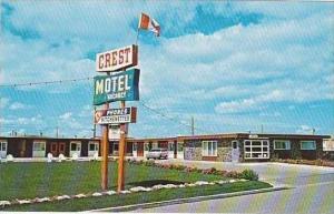 Canada Alberta Lethbridge Crest Motel