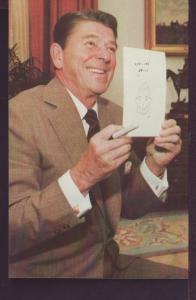 Ronald Reagan Post Card 3355