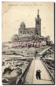 Postcard Old Marseille Notre Dame de la Garde