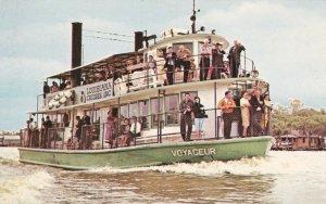 Louisiana Boat Voyageur Bayou Barataria Cruise To Lafitte sk6555