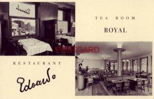 RESTAURANT EDOARDO - TEA ROOM ROYAL, Bahnhofplatz 14 ZURICH