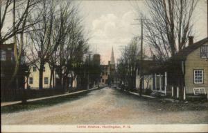 Huntingdon Quebec Lorne Ave c1910 Postcard