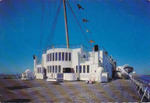 Queen Mary Sun Deck and Exclusive Verandah Grill Restaurant Long Beach Califo...