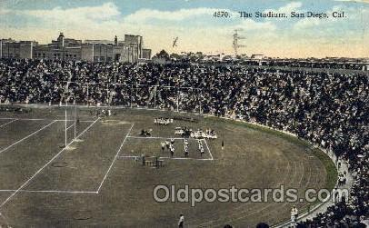 The Stadium, San Diego, California, USA Football Stadium, Postcard Post Card ...