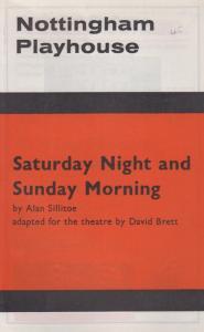 Saturday Night & Sunday Morning Ian McKellen Nottingham Theatre Programme