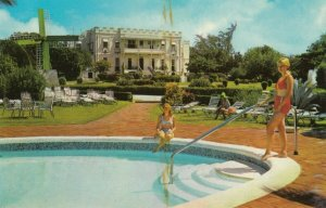 BARBADOS , 1950-60s ; Sam Lord's Castle Pool & Hotel