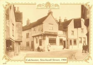 Reproduction Vintage 1904 Postcard, Colchester, Stockwell Street 82T