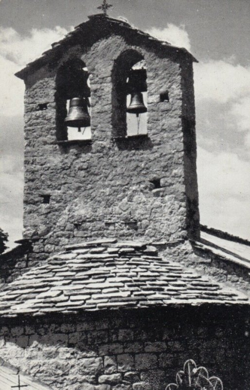 PEYRESQ, France , 1930-50s; Le clocher de l'eglise romane
