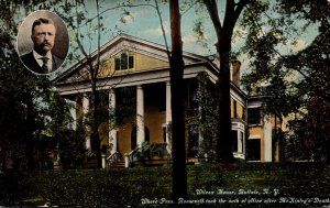 New York Buffalo Wilcox House Where President Roosevelt Took Oath Of Office A...