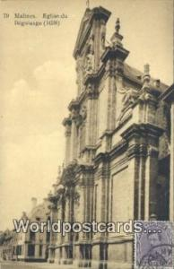 Malines, Belgium, België, la Belgique, Belgien Eglise du Beguinage 1638  Egl...