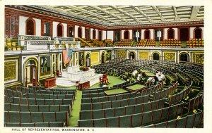 DC - Washington. Capitol Building, Hall of Representatives