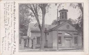 Old St Mary's P.E. Church, Burlington, New Jersey, PU-1905