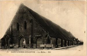 CPA St-PIERRE-sur-DIVES - Les Halles (276264)