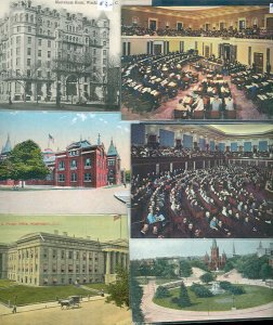 pc11448 postcard District of Columbia SIX all MOBSC