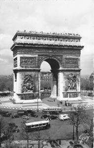 B68730 France Paris L'Arc de Triomphe autobus