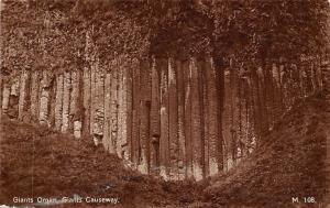 N. Ireland Antrim Giants Organ, Giants Causeway, Giant's Causeway
