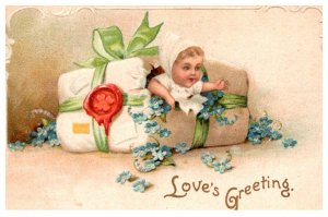 Children , Valentine , Baby girl , Love's Greeting