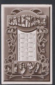 Theatrical Postcard - 1907 Calendar of Actresses    DC2319