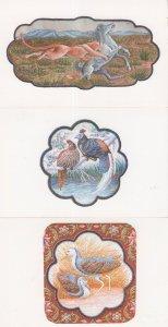 Kohinoor Jewellers India 3x Animal 3D Tapestry Postcard s