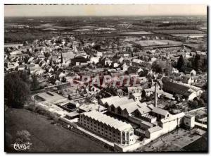 Postcard Modern Lurcy Levy A general view aerial