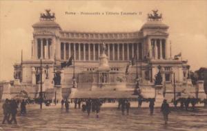 Italy Rome Monumento a Vittorio Emanuele II