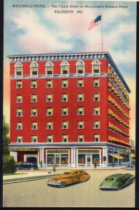 MD ~ Wicomico Hotel The Finest Hotel on Maryland's Eastern Shore SALISBURY LINEN
