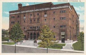 PITTSBURGH, Pennsylvania, 1900-1910's; Syria Mosque