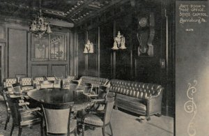 HARRISBURG, Pennsylvania, 1900-1910s; Ante-Room to Post Office, State Capitol