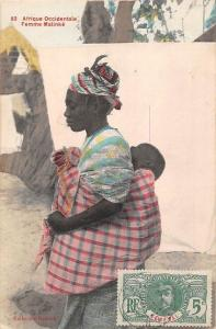 Africa Afrique Occidentale, Femme Malinke, Native 1913