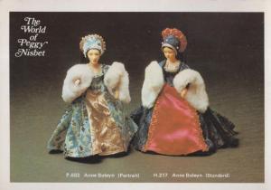 Anne Boleyn Toy Doll The World Of Peggy Nisbet Postcard