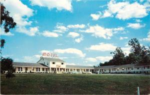 Morgantown Pennsylvania~Morgantown Motor Lodge~Formerly El Mor Motel 1950s