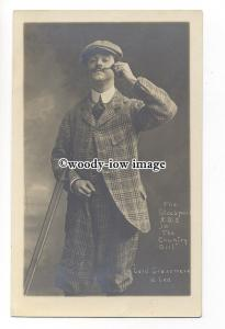 b4161 - Actor - Lord Grassmere Stockport A.O.S. The Country Girl  - postcard