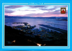 Gibraltar General View At Night