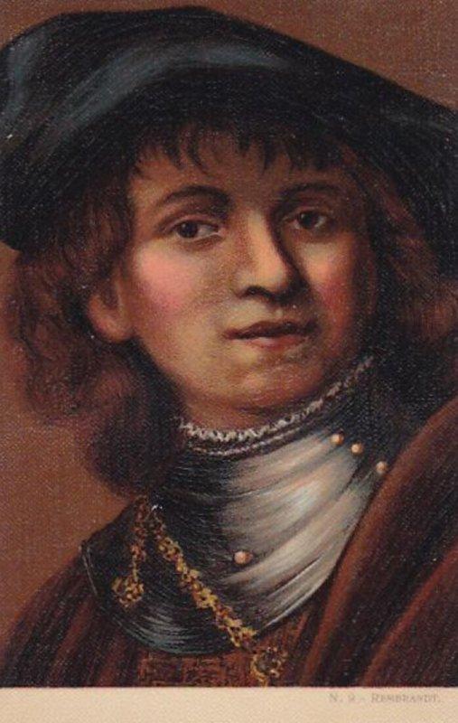 Portrait of REMBRANDT, 00-10s