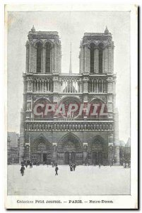 Old Postcard Collection Diary Paris Notre Dame