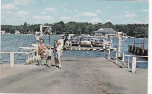 STOW-BEMUS POINT, New York, 50-60s; Ferry, Chautauqua Lake # 2