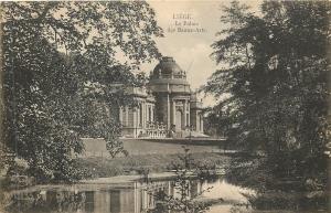 Liege Belgium~Le Palais des Beaux-Arts~Museum of Arts in Boverie Park 1940 B&W