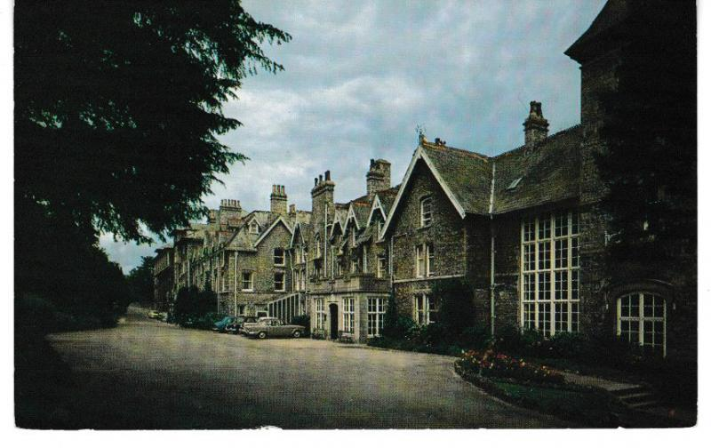 Post Card Cumbria Grange over Sands GRAND HOTEL