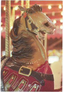 US Unused. Bushnell Park Carousel, Hartford, Connecticut.  Nice.