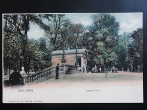 Netherlands: DEN HAGG, Ingang Bosch - Old UB Postcard