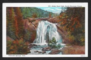 Helen Hunt Falls Colorado Springs Colorado Unused c1930s