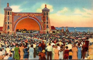 Florida Daytona Beach Band Shell and Open Air Theater Curteich