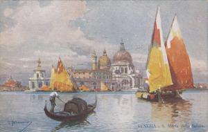 VENEZIA - S. Maria della Salute , Italy , 00-10s
