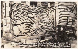 RP: ARCADIA , California , 30-40s ; Gun collection