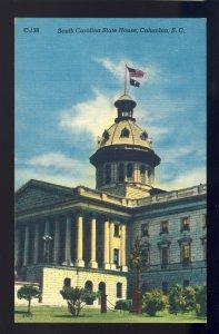 Columbia, South Carolina/SC Postcard, State House