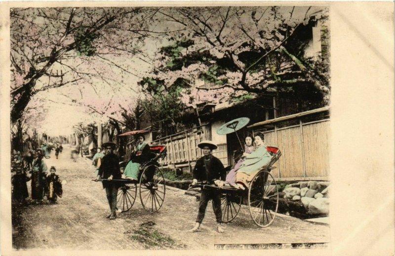 PC CPA YOKOHAMA Cherry blossoming Noge Hill JAPAN (a14622)