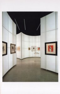Carmody Groarke Architects Drawing Fashion Painting Exhibition Postcard