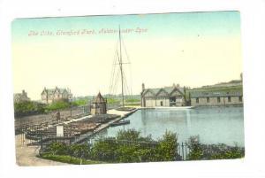 The Lake, Stamford Park, Ashton-under-Lyne, England, UK, 1900-1910s