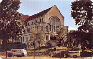 Panama Old Vintage Antique Post Card Balboa Union Church San Pablo Unused